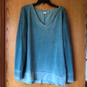 Gap Blue Faded Sweatshirt